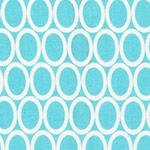 Remix - Ovals in Aqua
