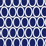 Remix - Ovals in Navy