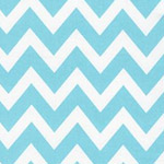 Remix - Large Zig Zag Stripe in Water