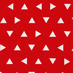 Remix - Tossed Triangles in Red