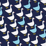 Urban Zoologie Mini - Geese in Navy