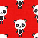 Urban Zoologie - Pandas in Red