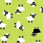 Urban Zoologie Mini - Sheep in Green