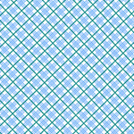 Dolly Jean - Plaid in Blue