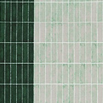 Jetty - Wall Tile in Green (FWoF)