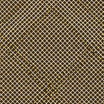 Collection CF - Tartan Single Border in Brown Metallic