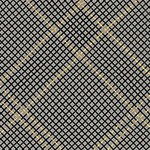 Collection CF - Tartan Single Border in Pewter Metallic