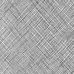 Widescreen - Crosshatch in Black (Wideback)