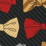 Dashing Bowties in Black
