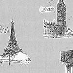 City Chic 2 - Landmarks in Grey