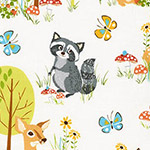 Forest Fellows - Raccoon and Friends in Wild