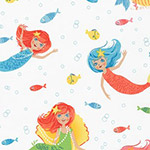Aquatic Friends - Happy Mermaids in Marine