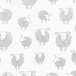 Wooley Sheep - Sheep in Silver