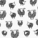 Wooley Sheep - Sheep in Black