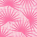 Palm Canyon - Palm Fronds in Pink
