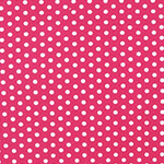 Spot On - Small Spots in Hot Pink