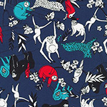 Animal Club - Jungle Animal in Navy