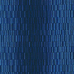 Color Union - Staggered Stripes in Blue