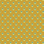 Meadow Storm - Sun Shower Dots in Mustard