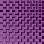 A Shout, A Whisper, A Text - Wicker Weave in Violet
