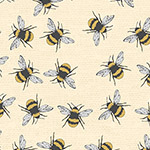 Bee Happy - Bees in Cream