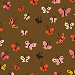 Tiger Lily - Butterflies in Brown