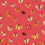 Tiger Lily - Butterflies in Coral