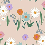 Daisy Chain - Daisy Garden in Blush
