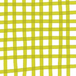 Daisy Chain - Plaid in Chartreuse