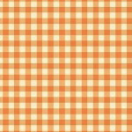 Trixie - Gingham in Tangerine