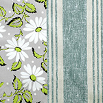 Marguerite Stripe in Green Line