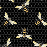 Devonstone Queen Bee - Bee Swarm in Black