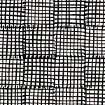 Cats and Dogs - Grid in Black