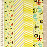Oh Boy in Yellow - Fat Quarter Bundle