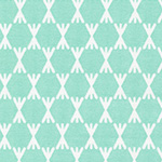 Foxglove - Stem Dot in Turquoise