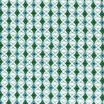 Rotary Club - Facets in Blue/Green