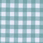 Checkers - Half Inch Gingham in Story Blue