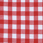 Checkers - Half Inch Gingham in Santa