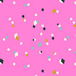 Cotton Candy - Confetti in Pink