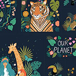 Our Planet - Our Planet 60cm Panel