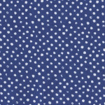 Mini Confetti Dot in Navy