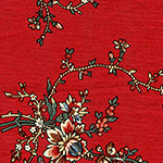 Dutch Heritage - Pattern 1027 in Red