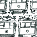 Classics by EJJ - Trams in White