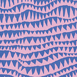 Spring 2017 - Brandon Mably - Sharks Teeth in Pink