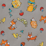 Animal Toss in Grey