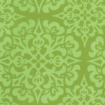 Ginger Snap - Snowflake in Green