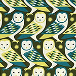 Birch Farm - Owls in Sage