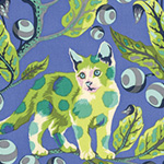 Tabby Road - Disco Kitty in Blue Bird