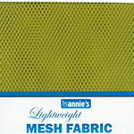 Mesh Fabric Pack - Apple Green