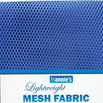 Mesh Fabric Pack - Blast of Blue